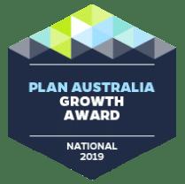 Plan Australia growth Award 2019