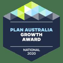 Plan Australia growth Award 2020