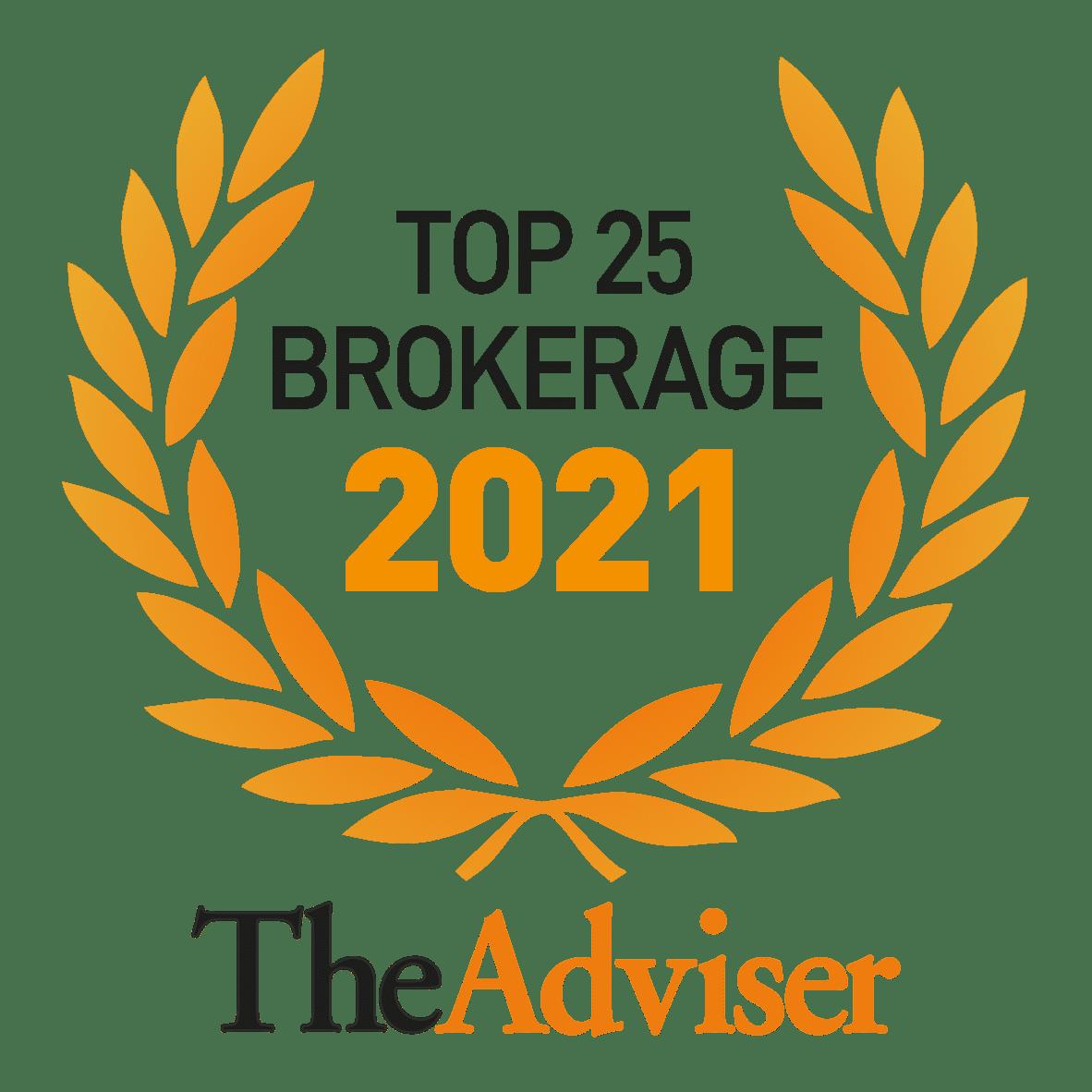 Top 25 Brokerage 2021