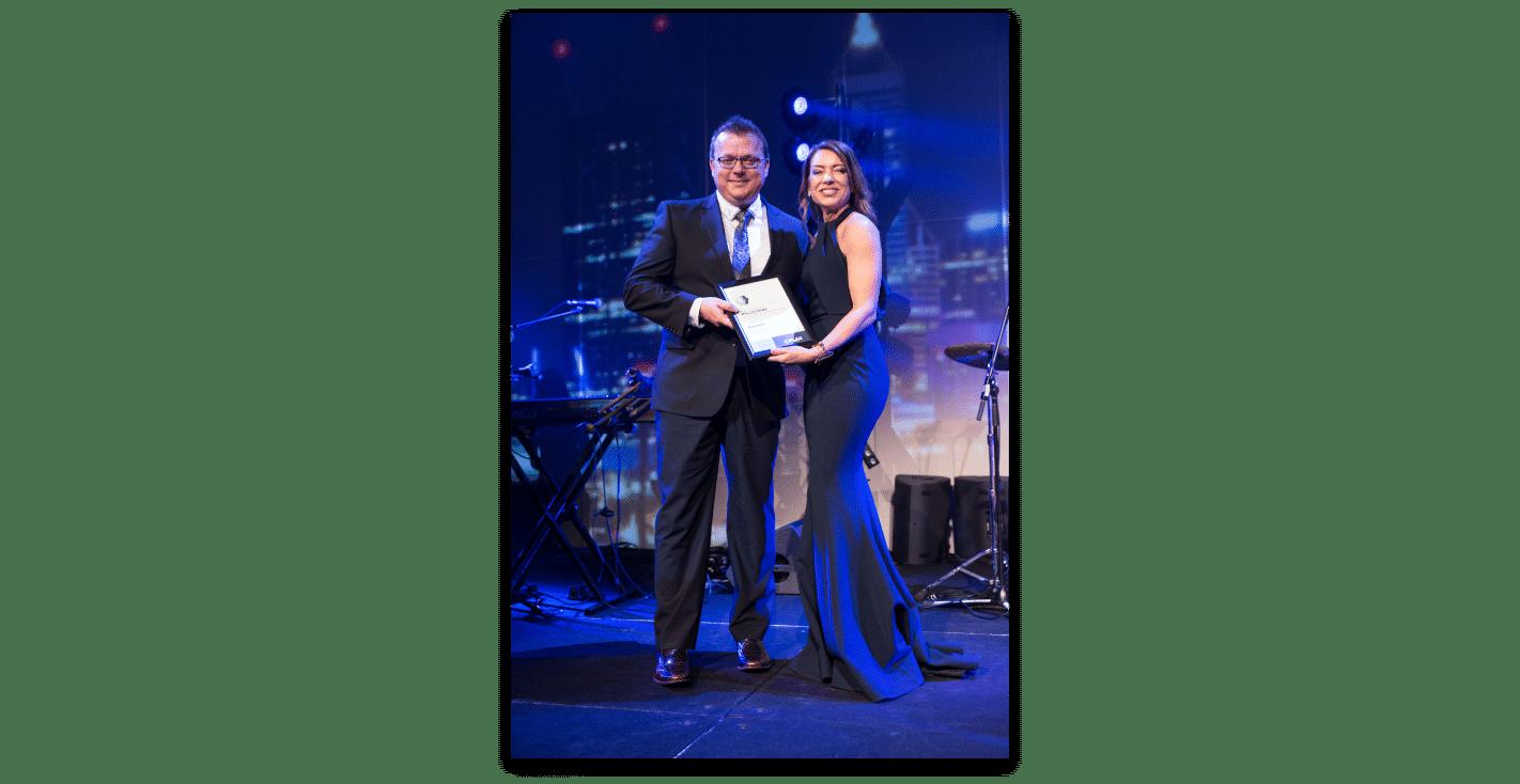 PLAN Award Gary Rock